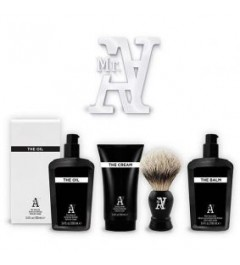 PACK ICON AFEITADO MR A. THE SHAVE con BROCHA