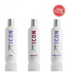 PACK ICON FREE INNER HOME Y ANTIDOTE 250 ML.