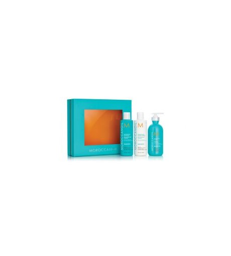 SET MOROCCANOIL SMOOTH REDUCTOR DEL FRIZZ Y VOLUMEN