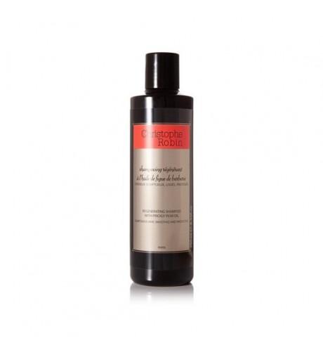 CHRISTOPHE ROBIN Shampoing Regenerant Figue de Barbarie 250 ml